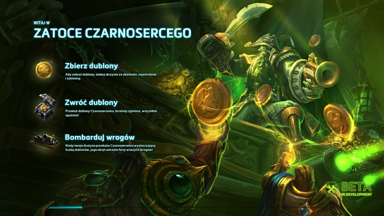 Heroes of the Storm mapa