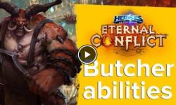 Heroes of the Storm Eternal conflict -Butcher's abilities