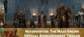 Neverwinter: The Maze Engine – Official Announcement Trailer