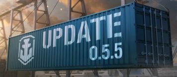 World Of Warships Aktualizacja do wersji 0.5.5 już w grze