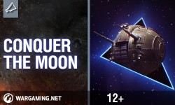 Conquer the moon with World of Tanks