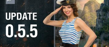 World of Warships Game Update 0.5.5