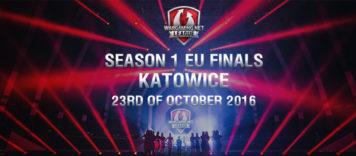 Finał europejskiej ligi Wargaming.net w katowickiej ESL Arenie