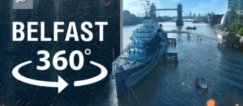 World of Warships – HMS Belfast 360°