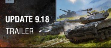 World of Tanks – Update 9.18 Trailer