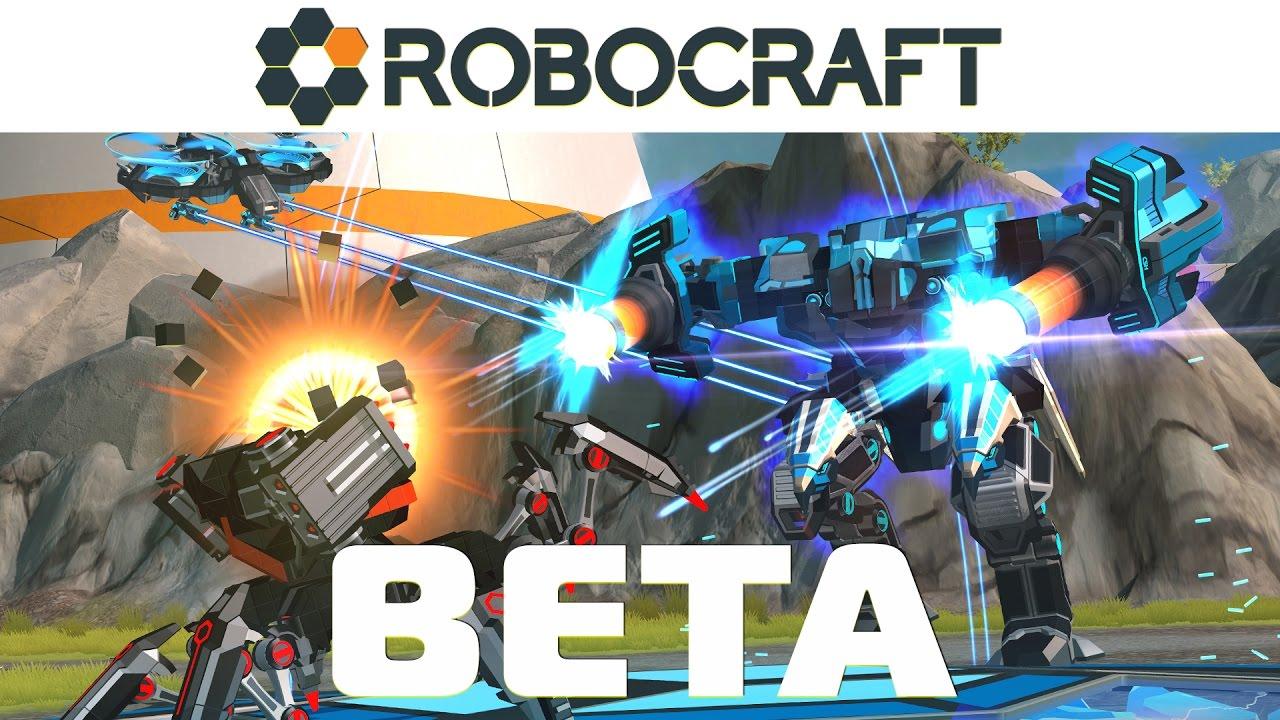 ROBOCRAFT BETA Launch Trailer   mmorank.pl