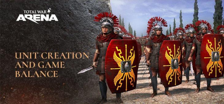 Total War: ARENA – Odkryj jak twórcy gry pracują nad jednostkami
