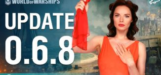 World of Warships – Game Update 0.6.8