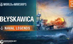 World of Warships – Naval Legends: ORP Błyskawica