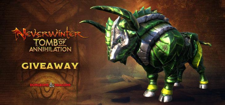 Rozdajemy Darmowe klucze do Neverwinter na wierzchowca na PS4 i Xbox One