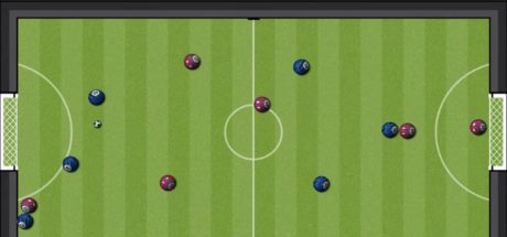 Six-a-side gameplay